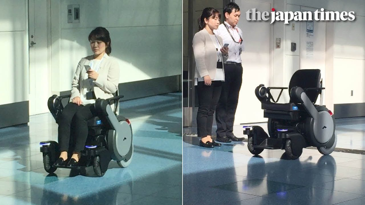 Electric Wheel Chairs Kids Chair And Table Autonomous Wheelchair Whill Next Demonstration At Tokyo's Haneda Airport - Youtube
