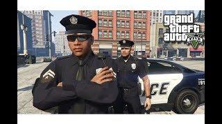 قراند 5 : مود الشرطة ? #3 | مطاردة اقوى عصابات امريكا مع اخوي صلاح ? GTA V
