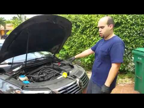 Oil Change With Electric Pump