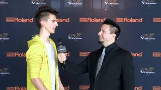#10 JP Bouvet Interview; V-Drums World Championship 2012