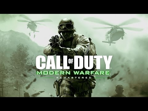Call of Duty Modern Warfare Remastered PS4 Gameplay 01