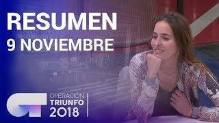 Resumen diario OT 2018 | 9 NOVIEMBRE