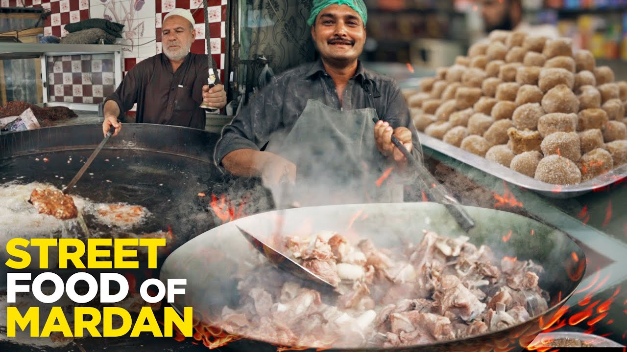 Badauni Pairay | Takht Bai Chapli Kabab | Ancient Buddhist Site | Mardan Street Food | Pakistan