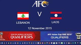 Lebanon vs Laos full match