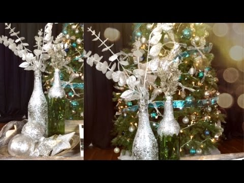 Diy adornos para navidad justlivealicia youtube for Adornos navidenos en 5 minutos