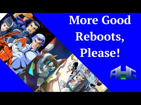 Geek Rants About Good Reboots
