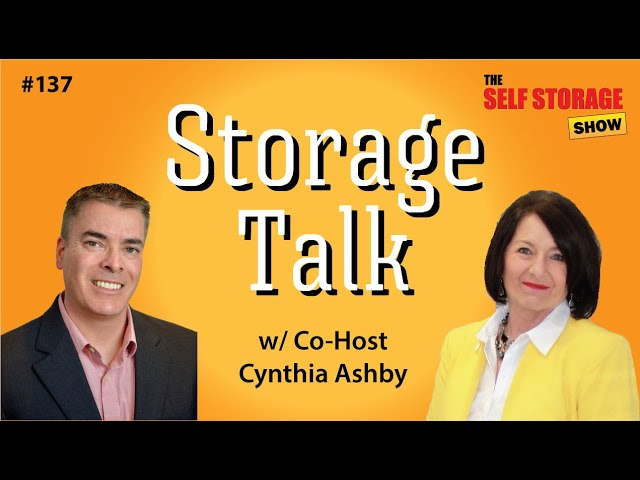 😎 #137: Storage Talk - w/ Co-Host Cindy Ashby