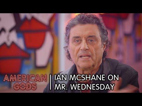 Ian McShane on Mr. Wednesday | American Gods