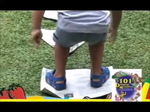 Permainan Kreatif Untuk Anak Cerdas Melompatibentuk Youtube
