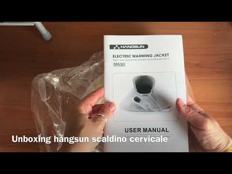 Unboxing trimmer  Orime e scaldino Hangsun per cervicale