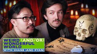 Shane & Ryan Perform A Séance At The Mystic Museum • Weird Wonderful World