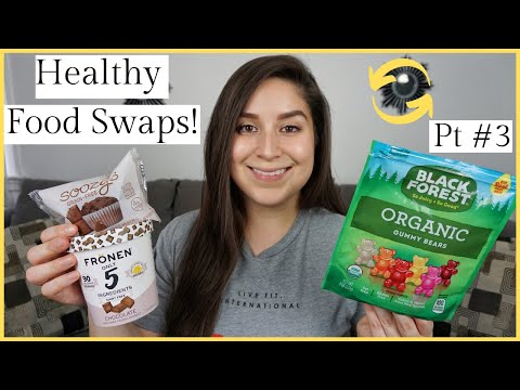18 Sweet Treat Healthy Food Swaps! (DAIRY + GLUTEN FREE OPTIONS)
