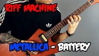 Как играть Metallica - Battery (Табы + Минус) | Riff Machine