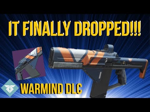 I FINALLY GOT ONE! MAIN INGREDIENT - WARMIND DLC - DESTINY 2