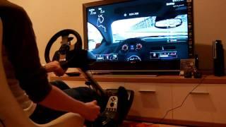 Playseats Evolution + Buttkicker Gamer + G27 + Gran Turismo 5 (PS3)