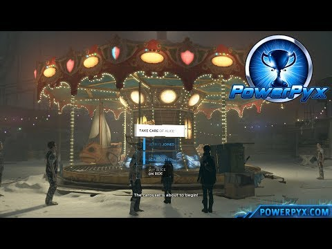Detroit Become Human - A SMILE ON HER FACE Trophy Guide (Alice rides the Merry-go-Round)