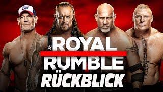 WWE Royal Rumble 2017 RÜCKBLICK / REVIEW