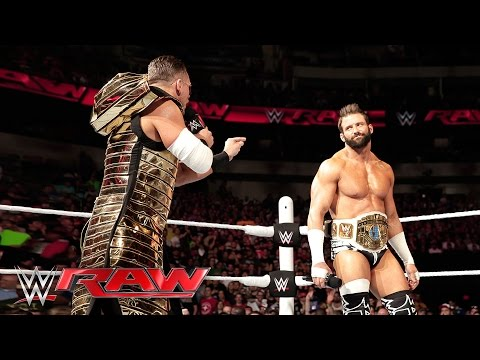 The Miz ruins new Intercontinental Champion Zack Ryder