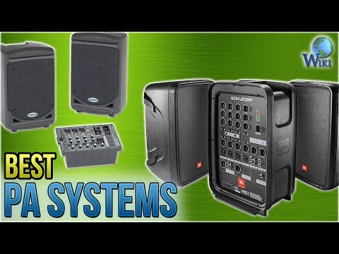 7 Best PA Systems 2018 - YouTube