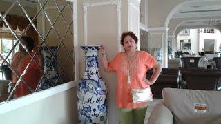 Отдых в Турции Отель KEMER DREAM 4 Фойе Китайские вазы Терраса