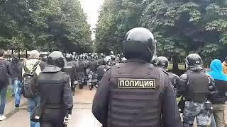 На московский митинг никто не пришел
