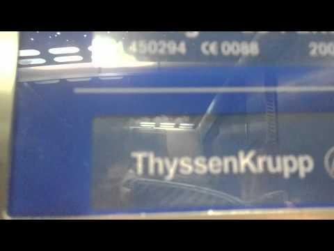 Thyssen krup lift at Antrim Forum