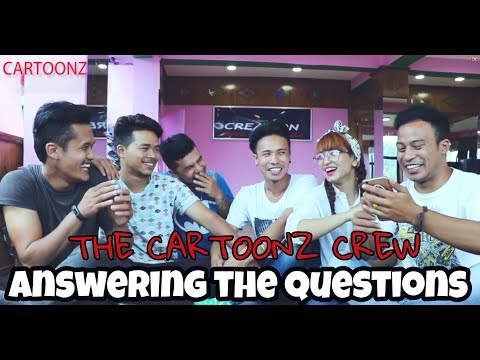 THE CARTOONZ CREW- Q & A | Answering the questions |