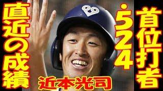 阪神ドラ1近本の直近の成績がガチ凄い!巨人・畠が証言「びっくりしますよ」