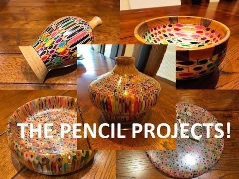 Pencil Vase Bowl Clock Update Youtube