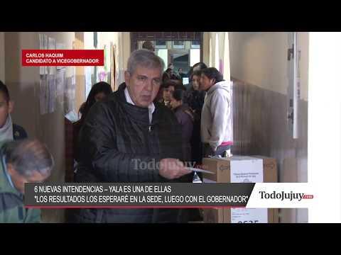 Votó Carlos Haquim