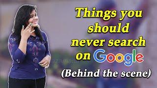 These Things should never Search on Google || Making Visual || Pratika Priyadarshini || Odia Zamana