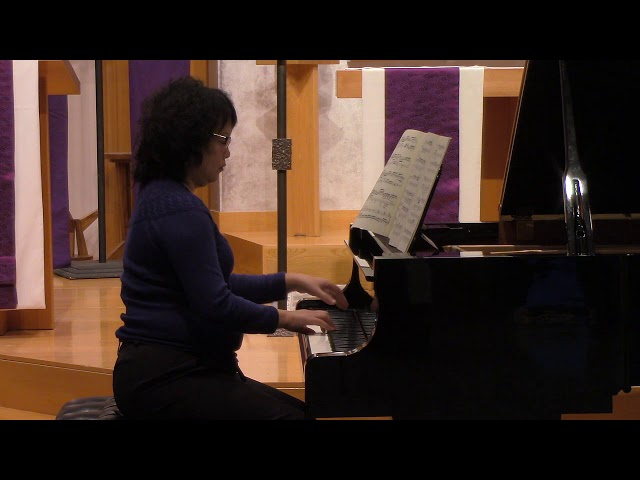 21 Bach/Busoni, Chorale Prelude,