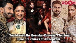 Deepika Padukone & Ranveer Singh Wedding - 7 stunning looks of Deepveer