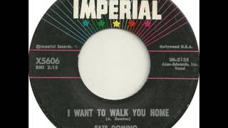 Fats Domino - I Want To Walk You Home - June 18, 1959