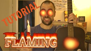 How to play FLAMING by Sungha Jung (정성하)