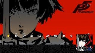 persona 5 makoto niijima special ps4 theme avatar set