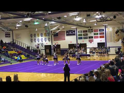 Huntley Varsity Cheer @ Rolling Meadows 2017