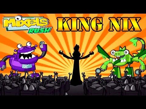 Cartoon Network: Mixels Rush - King Nix Series 6 Final