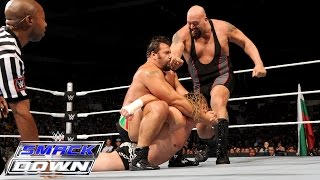 Ryback & Dolph Ziggler vs. Rusev & Big Show: SmackDown, Aug. 27, 2015