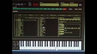 Yamaha DX7 Emulator Software - FM7 - Patch - 002   Brass 2