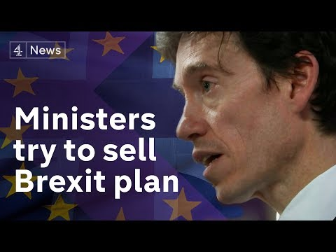 Brexit no deal trade warnings, as ministers try to sell May's plan