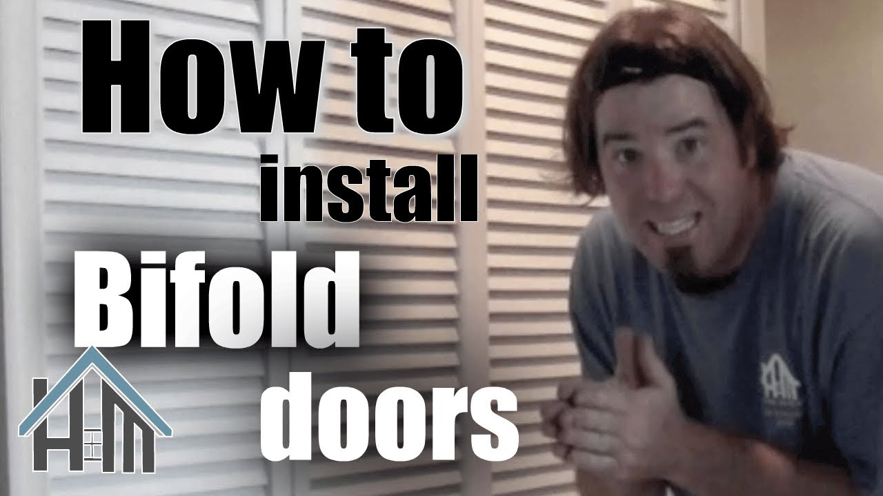 How To Install Replace A Bifold Closet Door Easy Home Mender Youtube