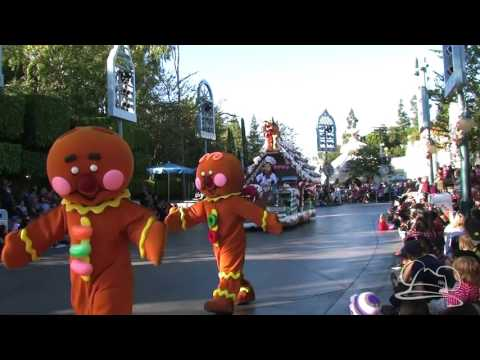 First A Christmas Fantasy Parade - Holidays at the Disneyland Resort 2015