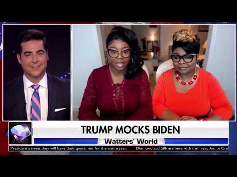 Diamond and Silk interview interrupted by Joe