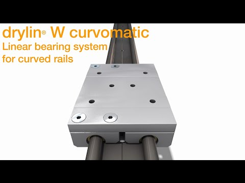 igus® introduces the DryLin Curved Rail