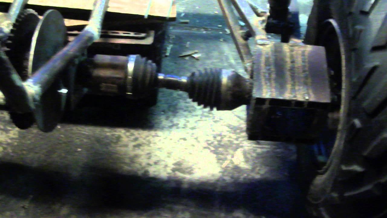 Dirtbox Venom independent rear suspension - YouTube