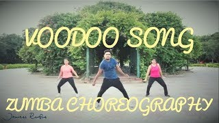 Voodoo Song - Willy William | Zumba Choreography | JAMESS RUFUS