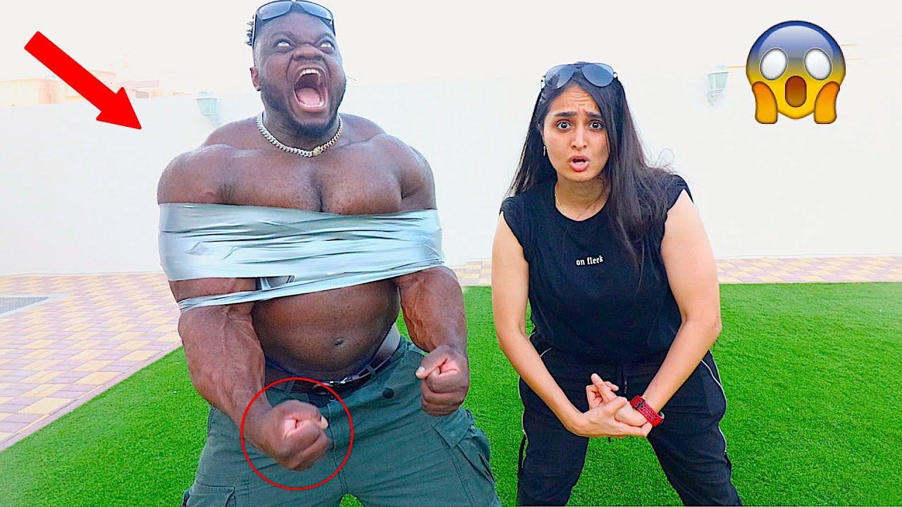 WORLDS STRONGEST MAN IN DUBAI !!!