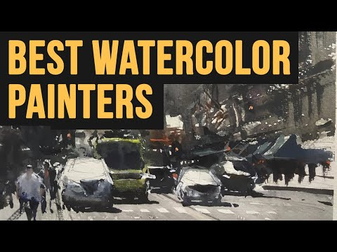 5 BEST Watercolor Painters & Why   Painting Masters 30 SPECIAL