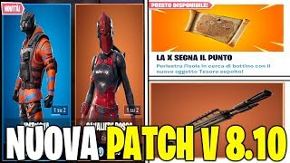 NOUVEAU PATCH UPDATE 8.10 FORTNITE SHOP 5 MARS SKIN IPERNOVA